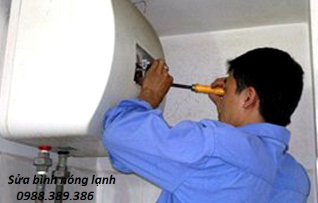 Sửa bình nóng lạnh tại Quan nhân