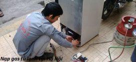 Nạp gas tủ lạnh tại Hà Nội