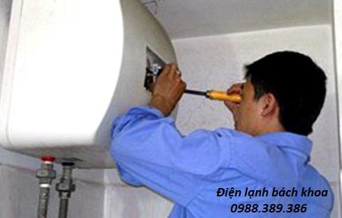 Sửa bình nóng lạnh tại Trần Cung
