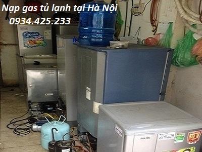 Nạp gas tủ lạnh tại Nhà Hà Nội