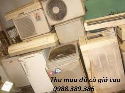 Mua điều hòa, tủ lạnh, máy giặt cũ tại Hà Hội