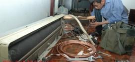 Tháo lắp điều hòa mùa đông tại Hà Nội