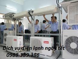 Dịch vụ điện lạnh ngày tết