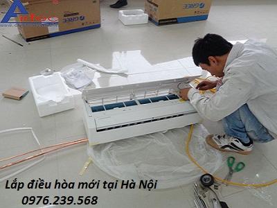 Lắp điều hòa mới tại Hà Nội