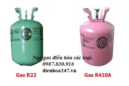 Nạp gas điều hòa các loại tại Hà Nội