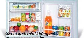 Sửa tủ lạnh mini không mát