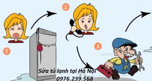 Sửa tủ lạnh tại Giảng võ